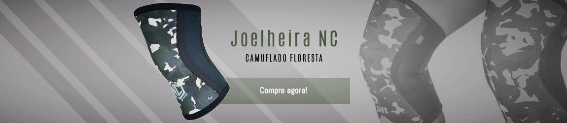 Joelheira 7mm Camuflada Floresta