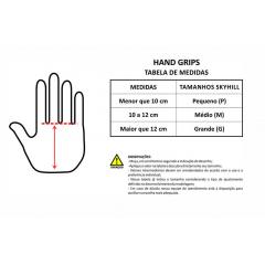 Hand Grip Competition Skyhill Couro Crossfit Luva Palmar - Laranja - Rafa Kilipper
