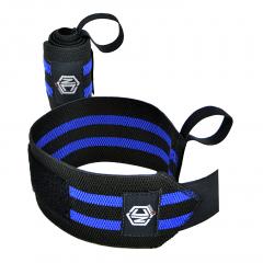 Munhequeira Elastica Wrist Wrap Crossfit Nc Extreme 35cm - Azul