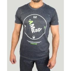 Camiseta Masculina Amrap Mescla/Verde KVRA
