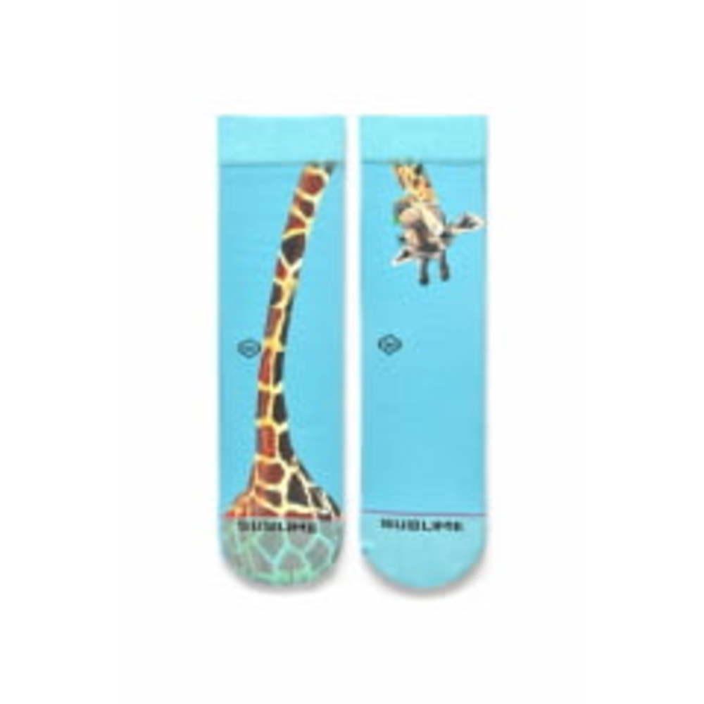 Meia de Cano Médio (par) Girafa Curiosa Sublime